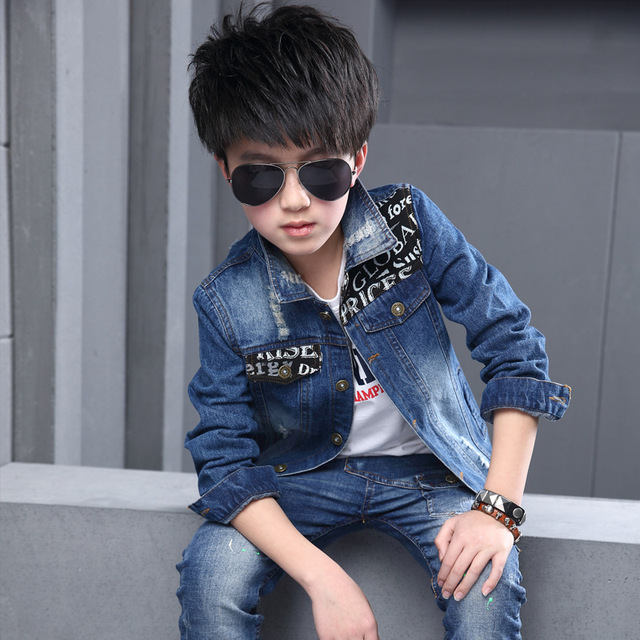 04a1292881db New Brand Boys Coats Outwears 2016 Spring Autumn Cool Kids Casual ...