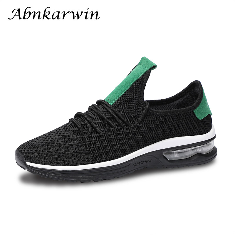 2018 Sneakers Breath Jogging For Male Sports Running Shoes Fly Weave Mens Trainers Walking Sport Gym Shoes Men Zapatillas Hombre