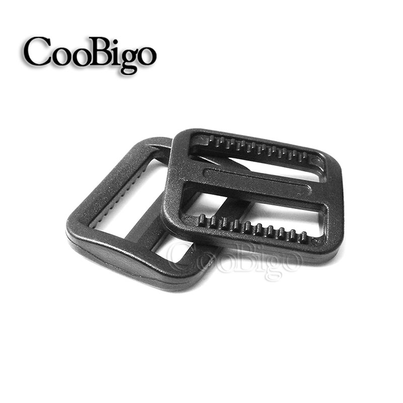 25mm plastic Adjustable Slider Tri-glides Buckle Backpack Webbing Moll Tactical Bag Parts Pick Color Modern Techniques 50pcs 1