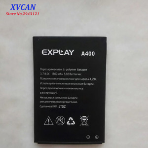 2019 New High Quality Battery For Explay A400 1600mAh Mobile Phone Bateria Batterie Baterij Rechargeable Accumulator In stock(China)