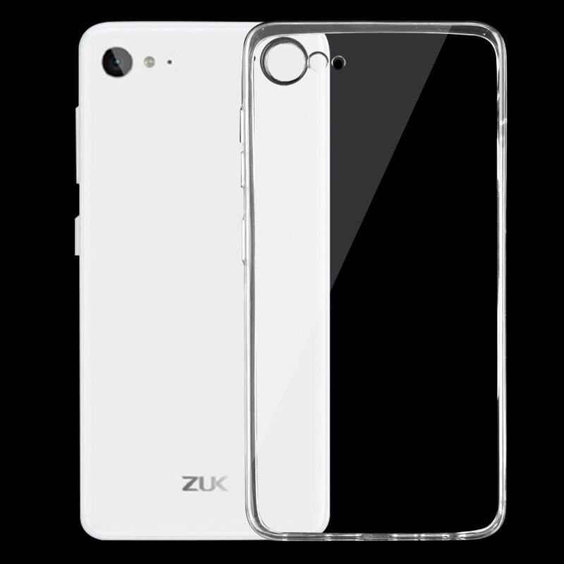 For Lenovo ZUK Z2 Case Cover 5.0 inch 0.75mm Ultrathin Transparent TPU Soft Cover Phone Case For Lenovo ZUK Z2 Back Cover Case