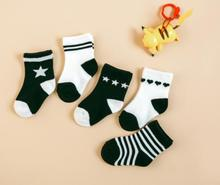 5 Pairs/lot Baby boys girls Socks kids socks 3-5/6-8/9-12Y British flag American canada flag cotton children socks spring summer(China)