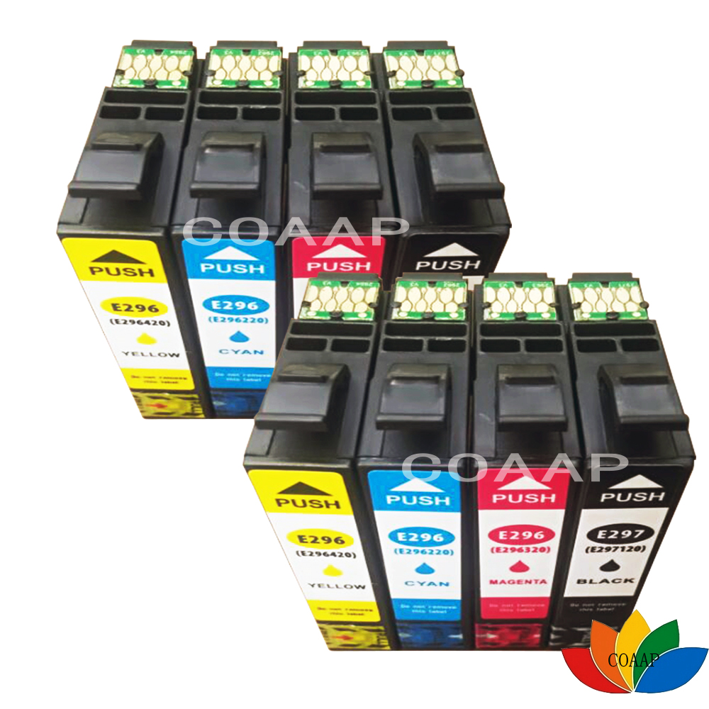 8 Compatible T2971 BLACK T2962 CYAN T2963 MAGENTA T2964 YELLOW Ink Cartridges for Epson XP 231