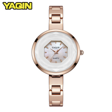 2018 fashion design unique dial quartz movement women watch 3ATM waterproof watch women female clock Relogio Feminino