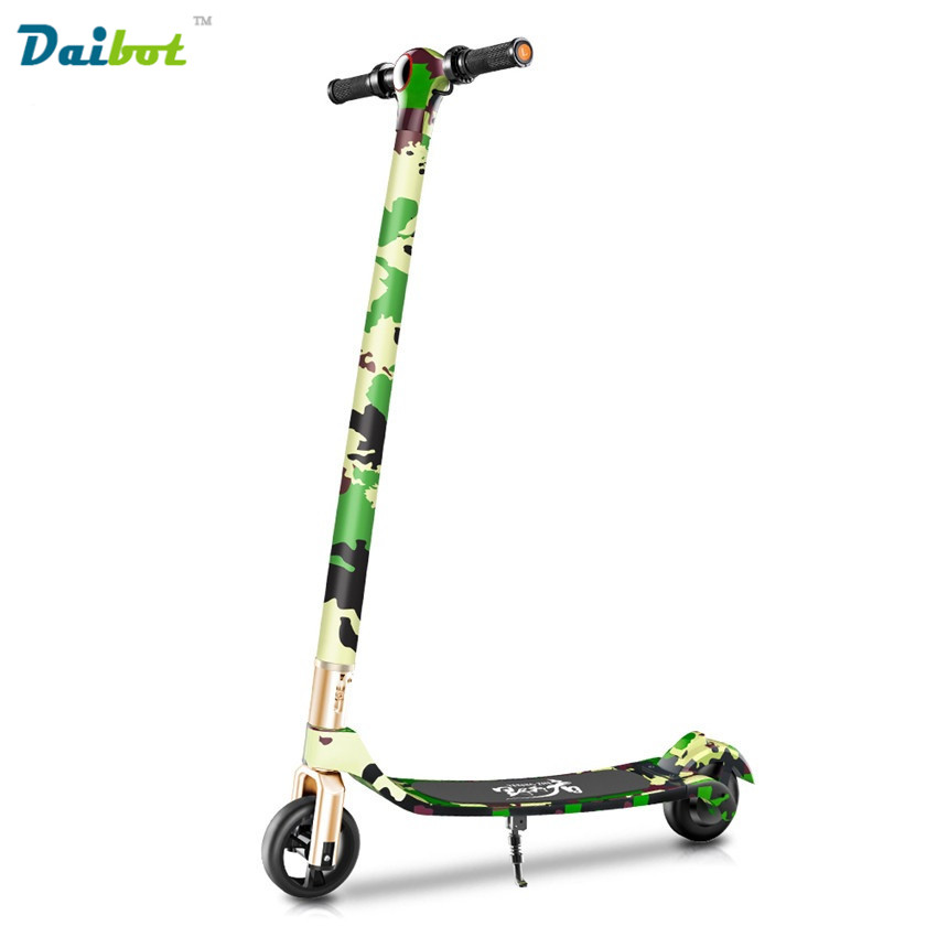 2017 newest camouflage foldable electric scooter for for Folding motorized scooter for adults