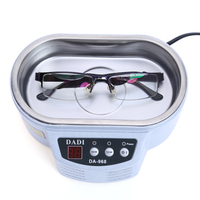 600 Ml Smart Ultrasonic Cleaner Jewelry Glasses Circuit Board Cleaning Machine US Circuit Board Intelligent Control
