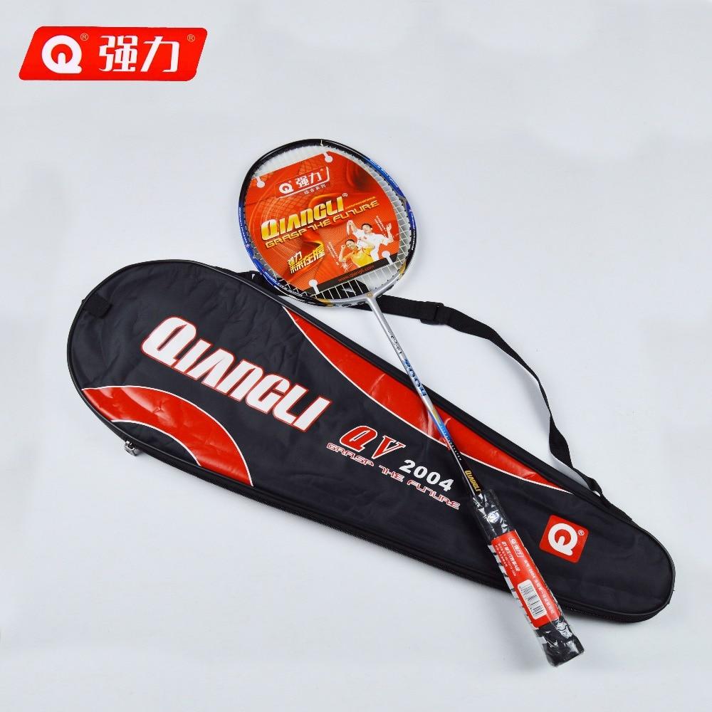 Authentic Qiangli2004 badminton racket Integrally molded badminton raquette badminton badminton rackets