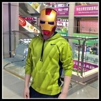 The Avengers Superheld Iron Man Maske Face Masquerade Cosplay Kostüm Helm Halloween-party-maske Captain America 3 Bürgerkrieg