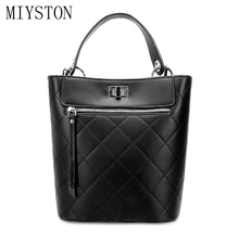 купить Brand Design Women Shoulder Bag Black White Leather Handbag Casual Tote Female Crossbody Hand Bags Women's Messenger Bag по цене 1119.33 рублей
