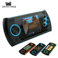 Данные лягушка Портативный 3 Дюймов 16 Бит Портативных Игровых Консолей Игроков игровой Консоли Встроенный 100 Классические Игры MP3 MP4 Игрок Игры