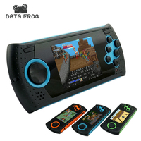 Data Frog Portable 3 Inch 16 Bit Handheld Game Console Players Gaming Consoles Build In 100