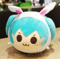 Vocaloid Hatsune Miku Soft Plush Toy Doll Cartoon Pillow Cushion