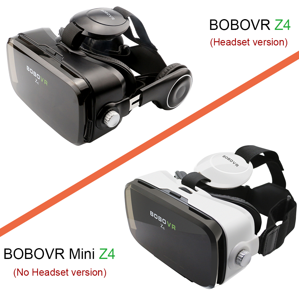 Original bobovr Z4 VR Box 2.0 Virtual Reality goggles 3D Glasses bobo vr Z4 Mini google cardboard For 4.7-6.0 inch smartphone 4