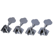 ADDFOO 4pcs String Tuning Pegs Machine Heads for Electric Bass 4L