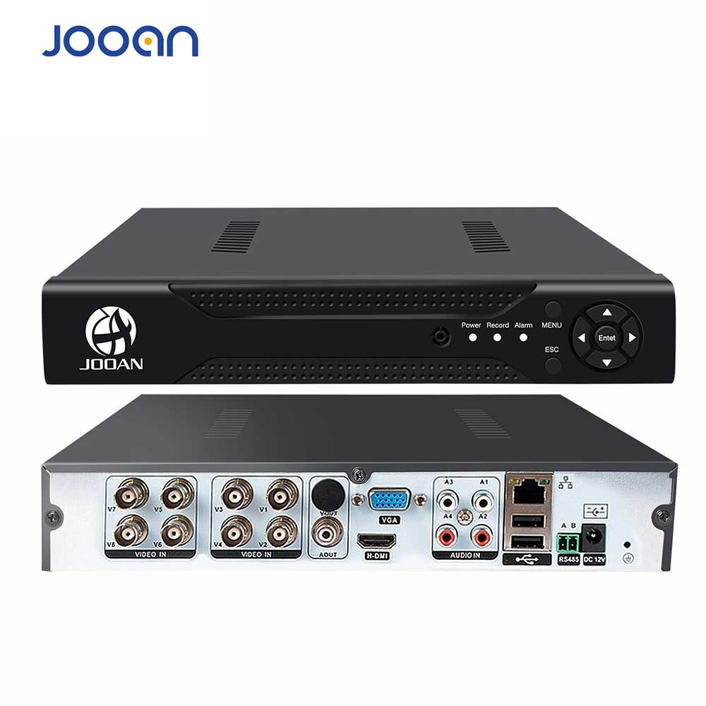 JOOAN 8CH 1080N CCTV AHD DVR QR Code Scan Quick Access, Smartphone, PC Enkel fjerntilgang h.264 Digital Video Recorder