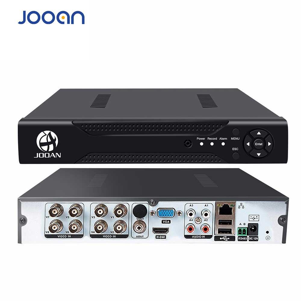 JOOAN 8CH 1080N CCTV AHD DVR QR Code Scan Quick Access, Smartphone , PC Easy Remote Access H.264 Digital Video Recorder