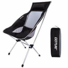 Goture портативный складной стул с Сумка для пешего туризма, рыбалки, кемпинга, активного отдыха (удерживать до 330 фунтов)