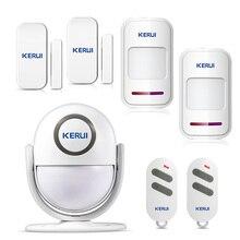 Welcome Alarm Chime Wireless Security Alarm System Protection Infrared IR Motion Sensor Door bell Alarm Doorbell DIY Kit