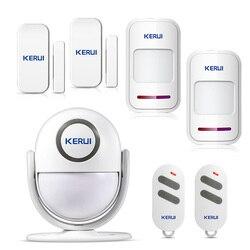 Witamy Alarm dzwonek bezprzewodowy System alarmowy ochrona podczerwieni czujnik ruchu ir dzwonek alarmowy dzwonek DIY Kit|Zestawy systemów alarmowych|Bezpieczeństwo i ochrona -