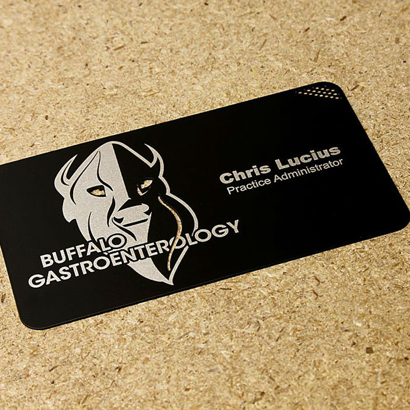 Creative black metal membership card personalized metal card custom ...