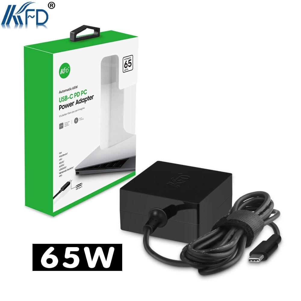 KFD 65W USB C Charger for Nintendo Switch,Lenovo Yoga 720