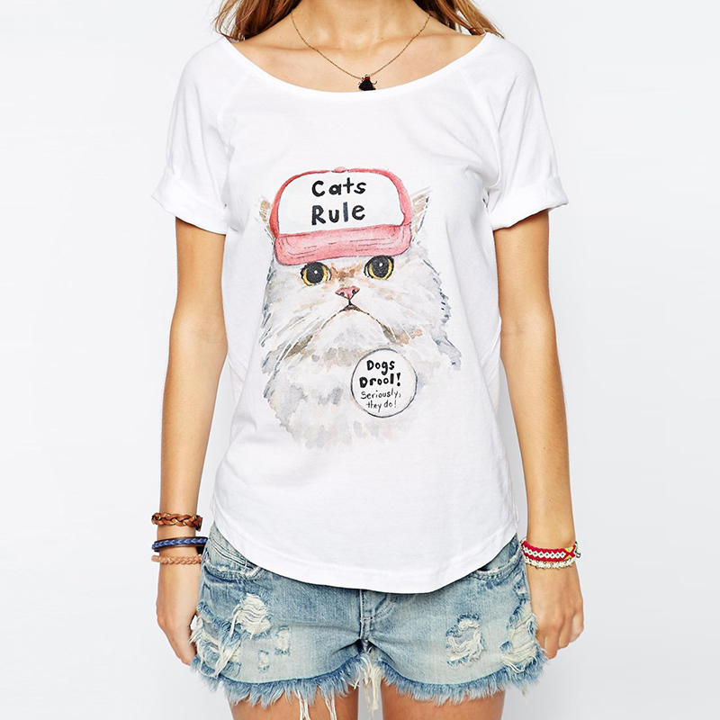 Cute t shirts for women custom shirt for Designer tee shirts womens