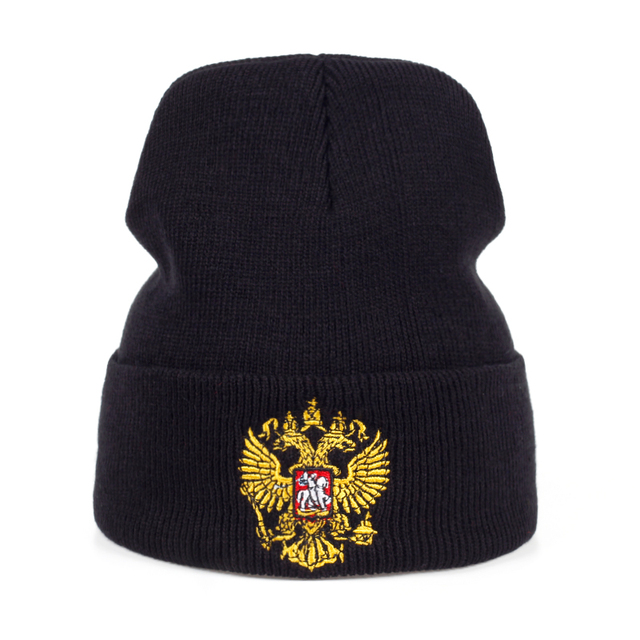 Hot sale Russia golden standard cotton beanie hat unisex women flexible  cool knit warm cap outdoor travel cap hats hot sale 524094b7c3d