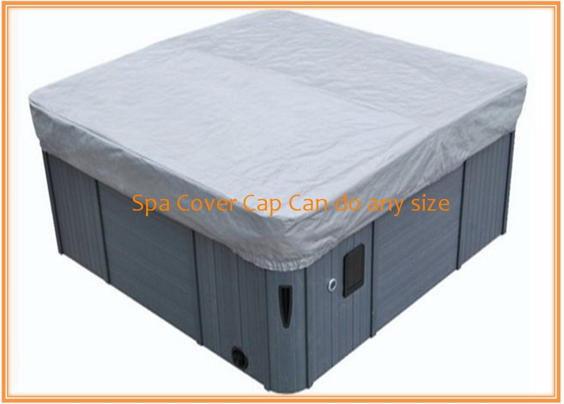 free shipping hot tub cover cap prevent snow, rain&dust, customize spa, swim spa cover bag any size available round spa cover cap diameter 200cm x 30cm high other size can be available