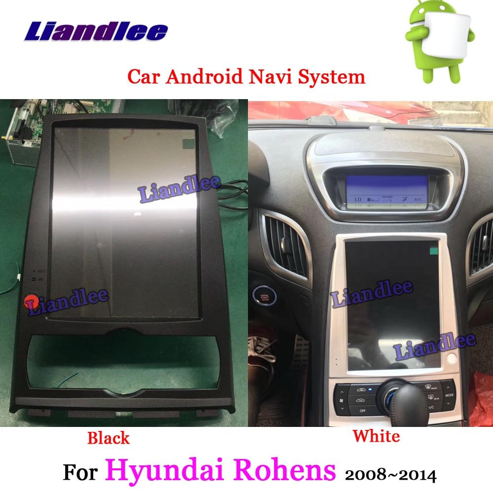 Liandlee Android For Hyundai Rohens 2008 2014 Stereo Radio Carplay Parking Camera TV BT Wifi USB