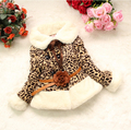 Free shipping   Retail Girls faux fur coat  Winter Clothes Children Outerwear&Jacket Warm clothing