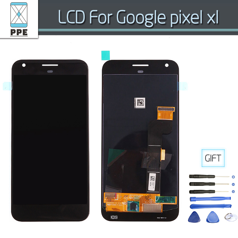 5.5 pouce LCD Écran Pour Google Pixel XL M1 Nexus Écran lcd Écran Tactile Digitizer Assemblée Pièces De Rechange Outils gratuits