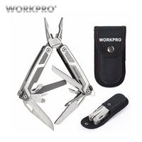 WORKPRO Top Quality 16 In1 Combination Plier Stainless Steel Plier Multi Tools Camping Tools With Knife