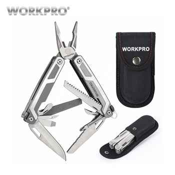 WORKPRO 16 in1 Multifunctional Plier Multi Tools Stainless Steel Plier Outdoor Camping Tool - DISCOUNT ITEM  50% OFF All Category