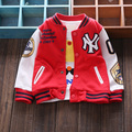 (1piece /lot) 100% cotton 2016 new style sport hoodies kids (1-3 year old )