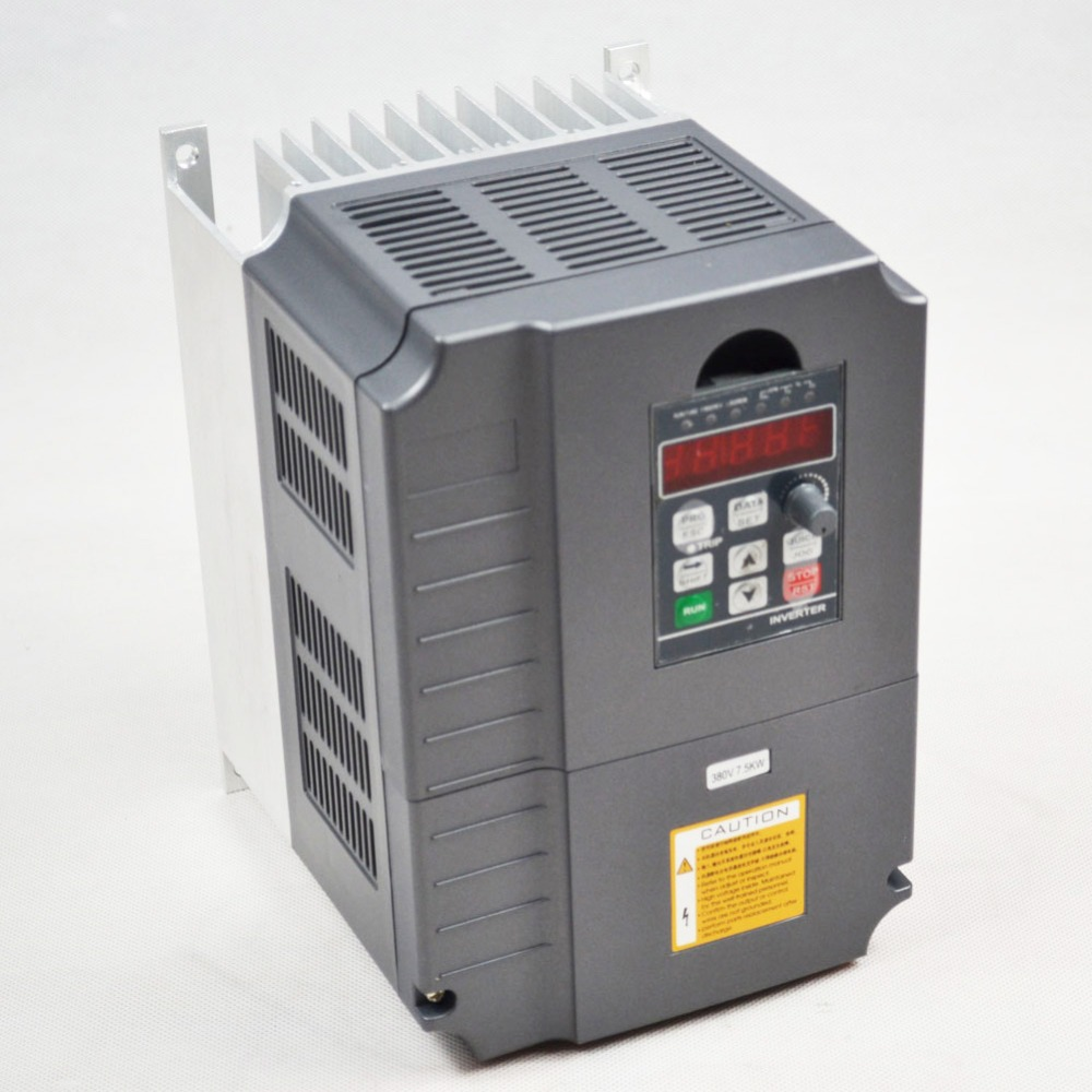 цена на AC inverter 7.5KW 380V 19A variable frequency drive inverter spindle motor speed controller vfd