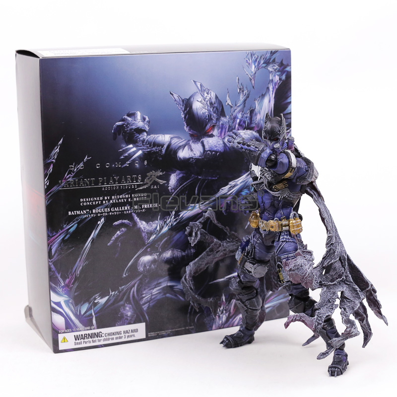 Play Arts Kai Batman: Mr. Freeze Rogues Gallery SQEN PVC Action Figure Collectible Model Toy play arts kai street fighter iv 4 gouki akuma pvc action figure collectible model toy 24 cm kt3503