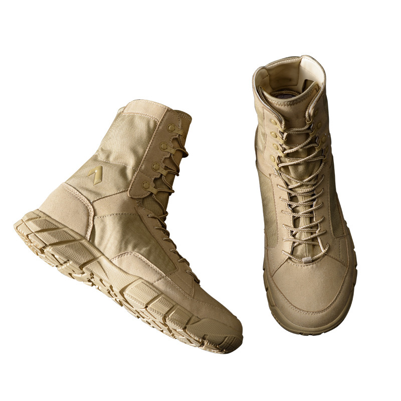 Outdoor sports camping ultralight breathable high tube shoes combat military desert tactical boots sport sneakers boot