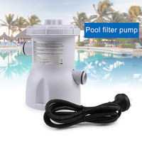 Professional Electric Swimming Pool Filter Pump US Plug for Pools Cleaning 220V XR Hot