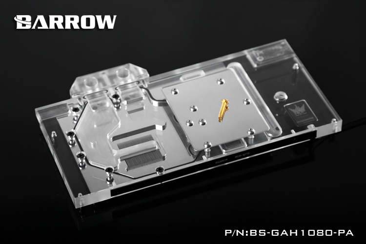 Barrow BS-GAH1080-PA Water Cooling Block for Galax GTX1080 1070 1060 HOF туфли galax galax ga016ambadr1