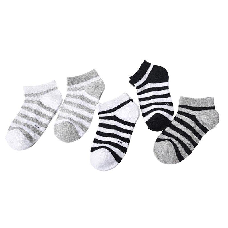 все цены на 5 Pair=10PCS/lot Baby Socks Neonatal Spring Summer Mesh Cotton Plain Stripes Kids Girls Boys Children Socks For 4-12 Year