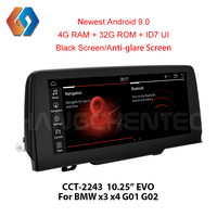 Px6 Android 9.0 For BMW X3 X4 G01 G02 2018 EVO With 6 Core CPU LPDDR4 2G RAM Built in WiFi Bluetooth TV Touch Screen Unit 43