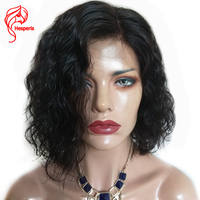 Hesperis Short Bob Human Hair Wigs For Black Women Wave 100 Remy Human Hair Lace Front
