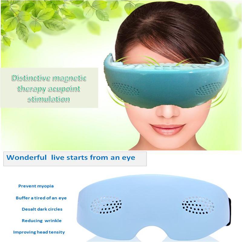 Nueva Llegada Vibración Masajeador Aliviar La Fatiga Del Cuidado del Ojo Eléctrica Turmalina Terapia Frente Mejorar la Salud de Los Ojos