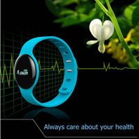 Fashion Health Bluetooth Smart Bracelet Support Pedometer Sleep Tracker Fitness Watches Smart Band for iOS Android Smart Phone