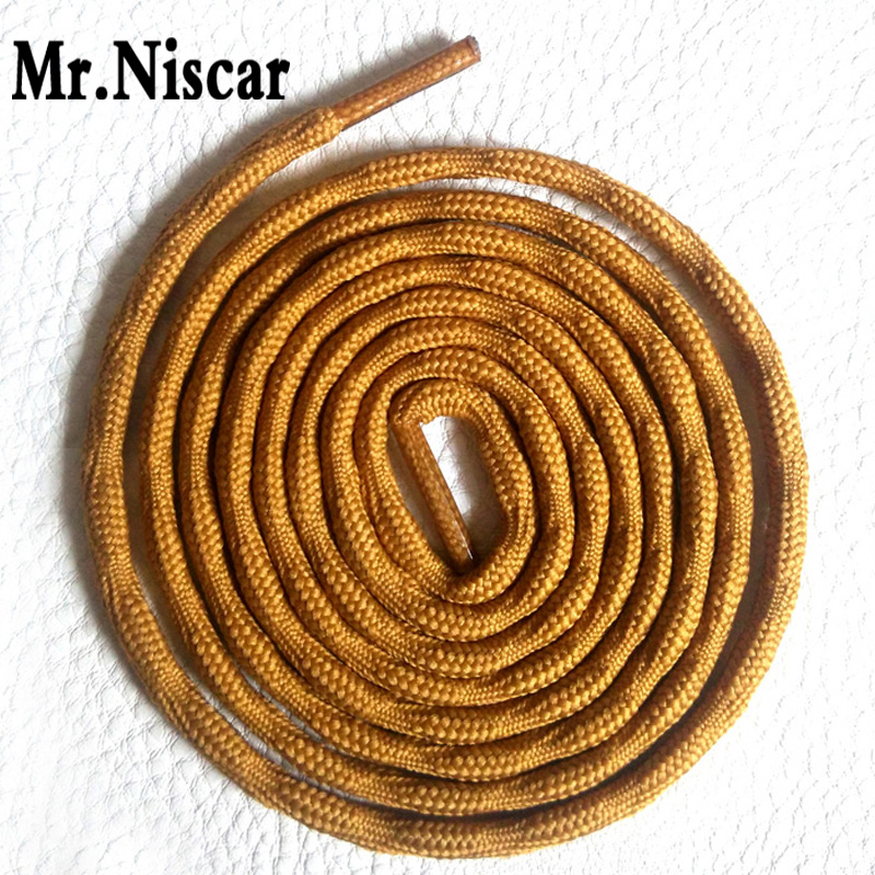 Mr.Niscar 2 Pair Round Sports Shoelaces Climbing Hiking Bootlace Brand Shoe Laces Outdoor Sport Sneaker Shoelaces Shoestring mr niscar 10 pair round shoe laces red brown non slip outdoor sports hiking sneaker shoelaces skate boots bootlace string rope