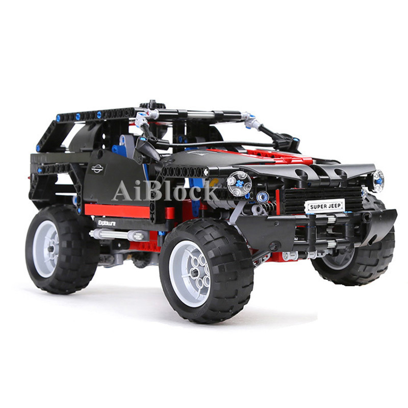 Hot Sale Cruiser Car Model Block 589pcs Bricks Compatible With Legoing Technic Building Blocks Gifts Toys For Children