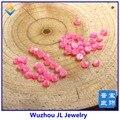 (50 pçs/lote) 3mm ~ 7mm Frete Grátis Synthetic Opal Cabochão Rodada Opal Gems para anel ou para a jóia do corpo