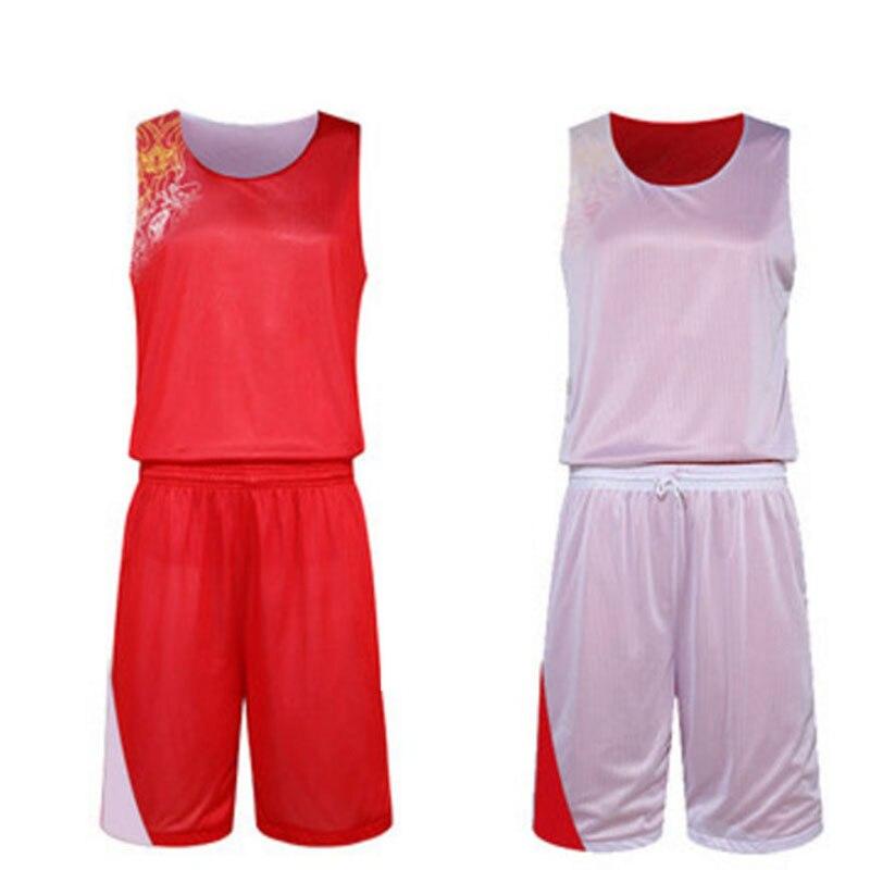 2017 новые двойные стороны носить мужчины баскетбол джерси, ультра-легкие учебные спортивные дышащие трикотажные изделия, обратимым баскетбол-джерси