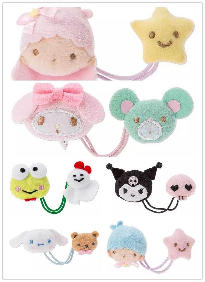 Cute Double Hair Circle  Big Ears Cinnamoroll Dog Egg Yolk Pudding Dog For Girls Kids Best Gift