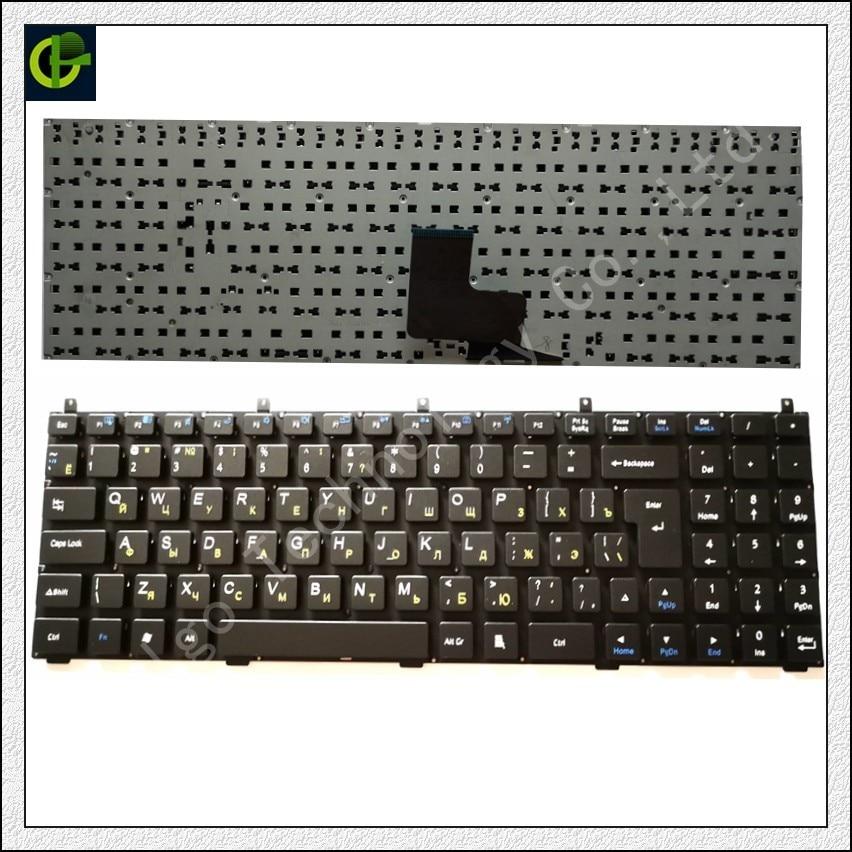 Clavier russe pour DNS C5500 W765K W76T 118732 Clevo K107 W150HN X8100 MP-08J46SU-430 MP-08J46SU-4302 6-80-X5100-280-1 RU